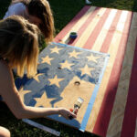let's host an american flag party
