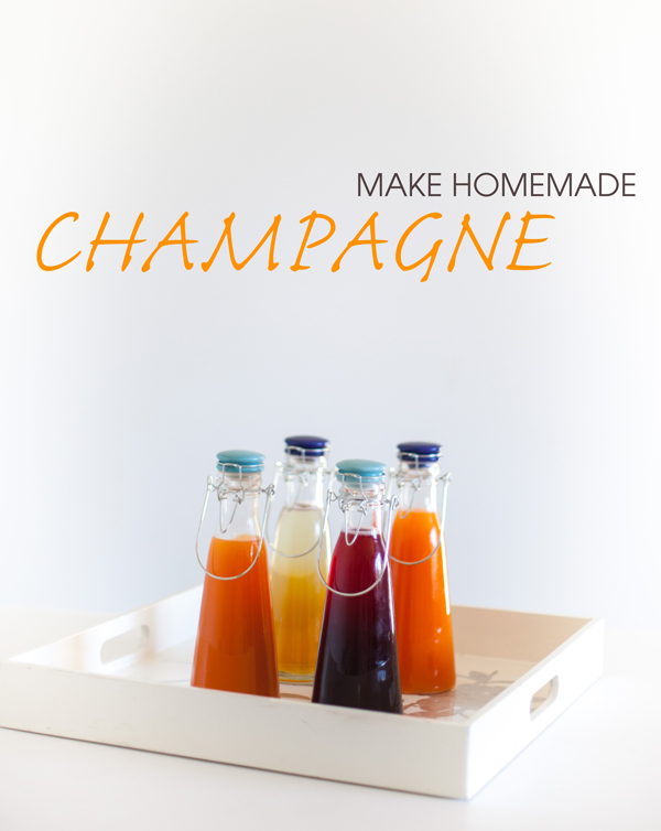 Make champagne at home!