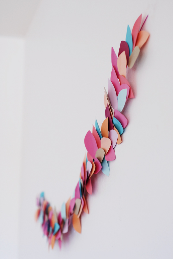 Bright leaf party garland