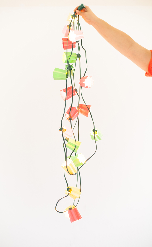 Paper Folded Light Strands