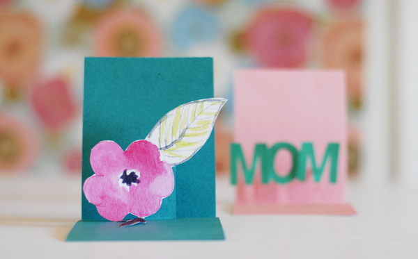 Pop-out Mother's Day card