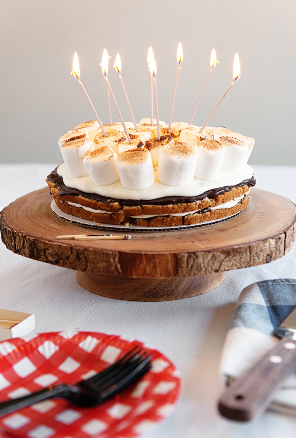 Smores Cake For Birthdays O A Subtle Revelry