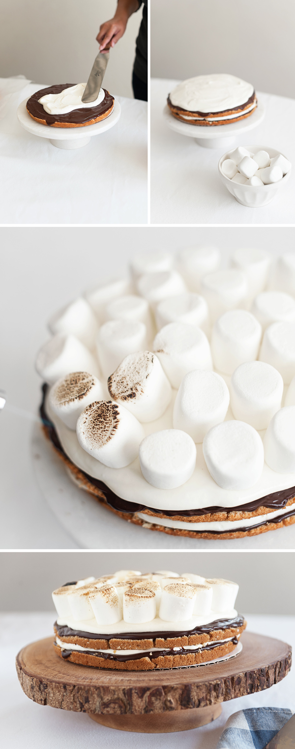 smores cake ingredients