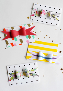 paper bow invitations