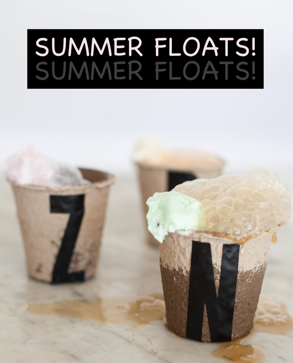 3 favorite summer float recipes