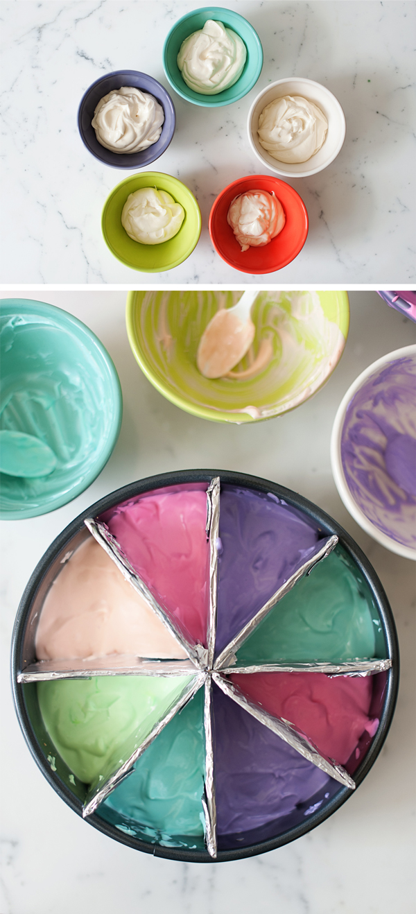 Colorwheel Cheesecake