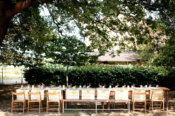 5 sneaky tips for a summer party - how to create shade! (Click through to read them all)