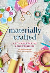 materially crafted - the book cover!