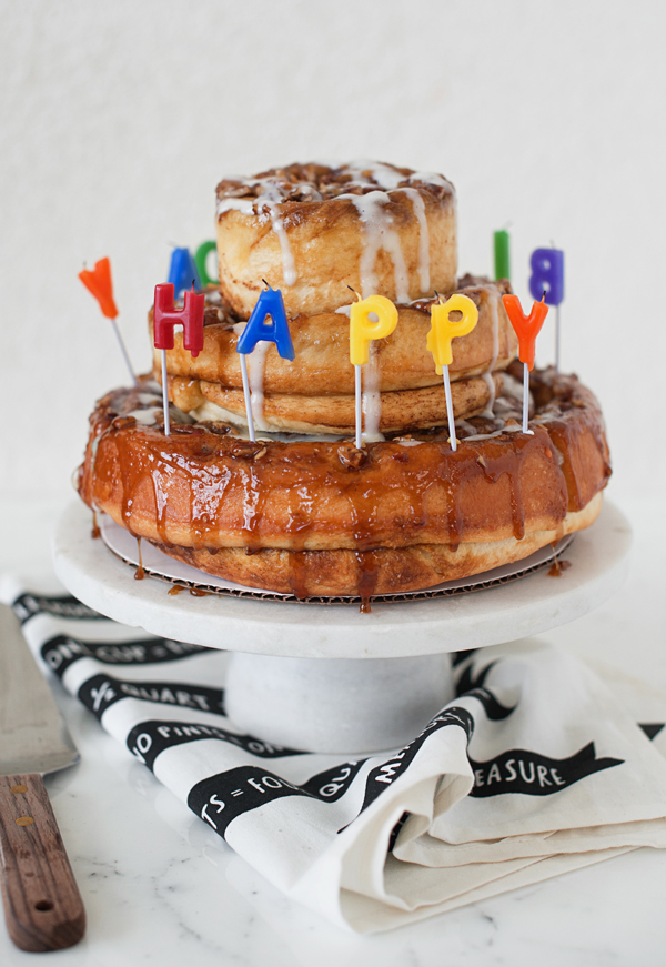 Cinnamon Roll Cake Recipe For Birthdays A Subtle Revelry