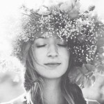 weighted beauty in floral crowns