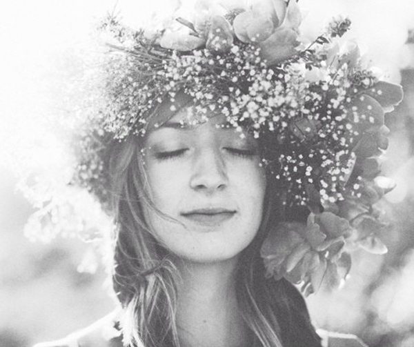 How to make a baby's breath flower crown for wedding