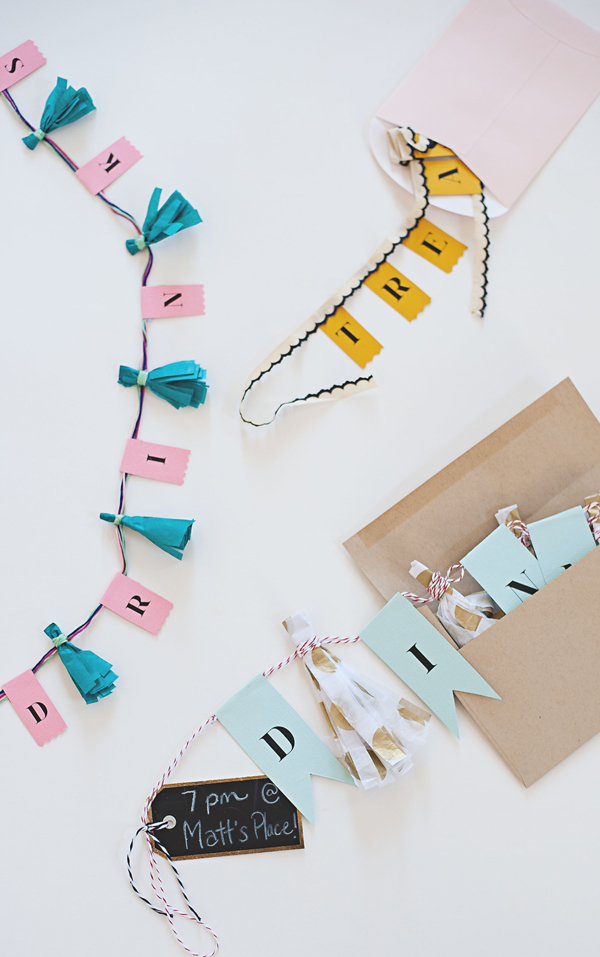 Tassel Garland Invitations