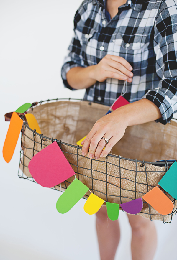 Bright Funky Party Garland
