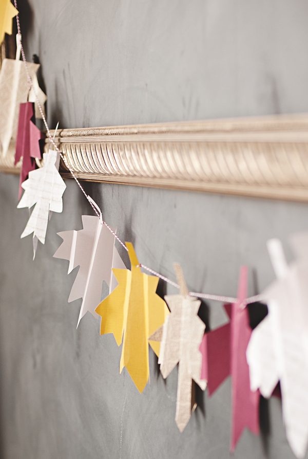Folded Leaf Garland