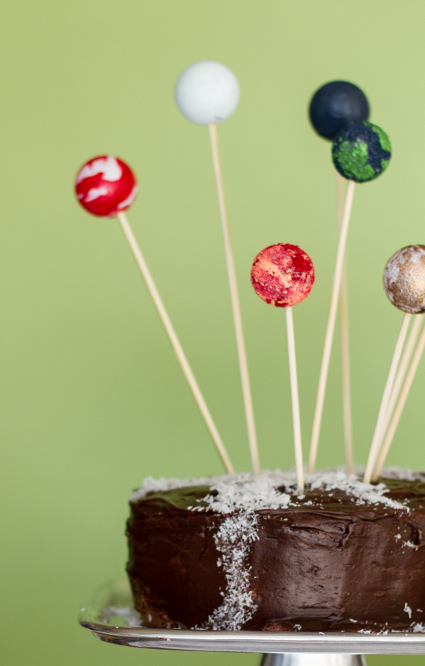 Planet Cake Toppers And A Milky Way O Subtle Revelry