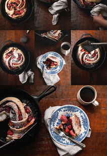 why don't we - bake triple berry swirl bread