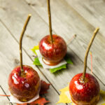 hard candy caramel apples