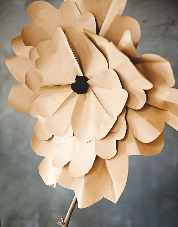 Large bloom paper flower