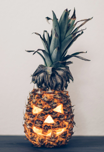 why don't we - carve a pineapple?