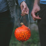 why don't we… light a pumpkin party lantern