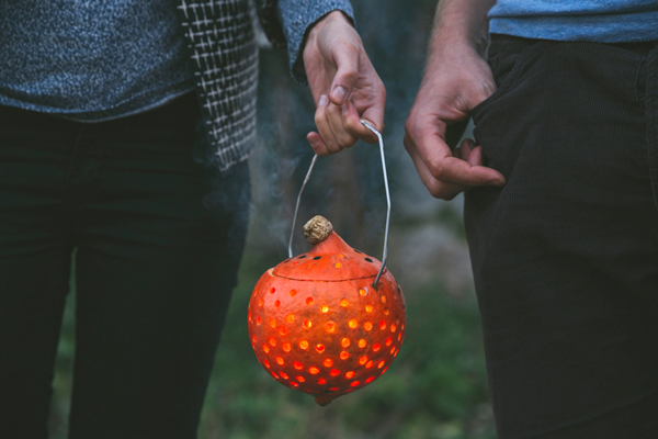 Pumpkin party lantern