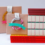 wreath wrapped gifts for creatives