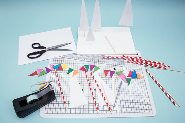How to make printable party garland.