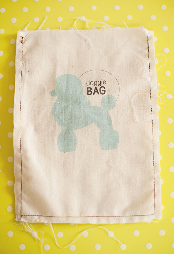 DIY printable doggie bags (print these with an inkjet printer!)