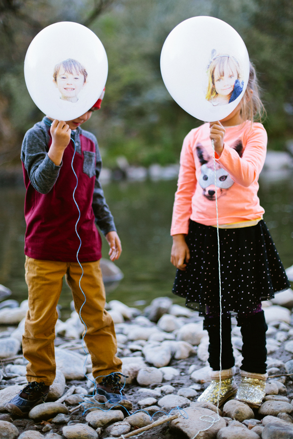 Put your face on a party balloon! (Click through for the tutorial)