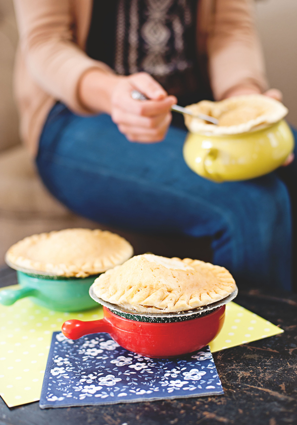 Easy to make pot pies