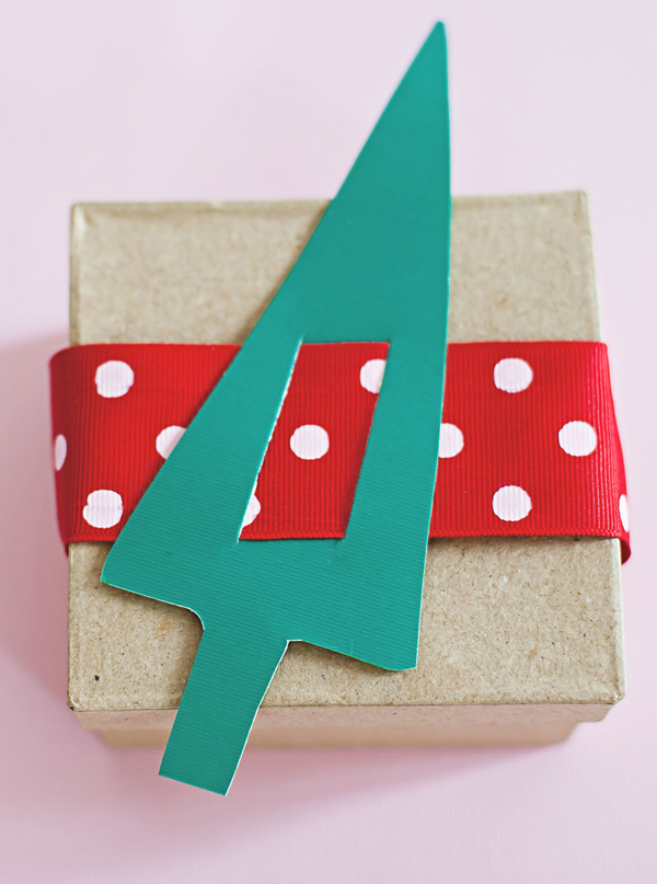 Paper Trees Advent Countdown