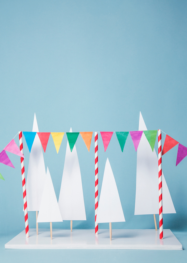Printable party garland