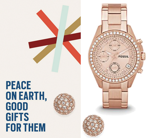 Fossil holiday gifts