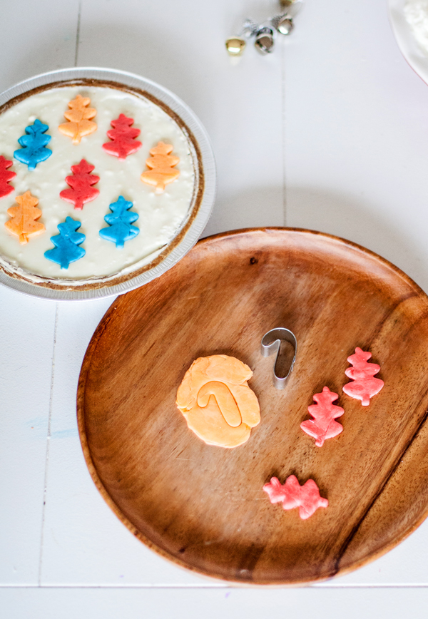 DIY fruit candy pie toppers