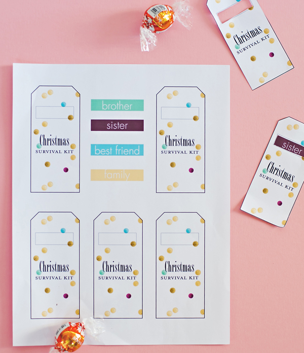 Christmas Survival Packs A Subtle Revelry