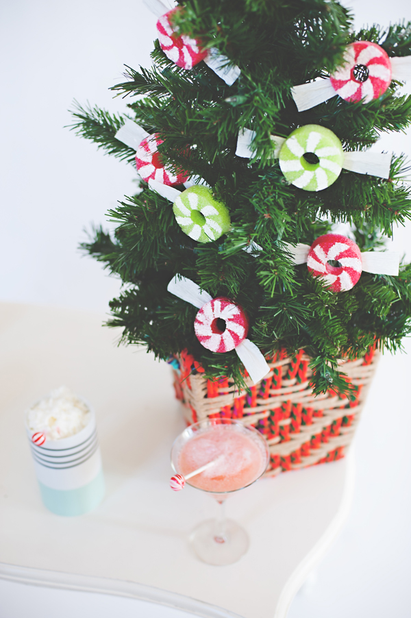 Peppermint party drinks
