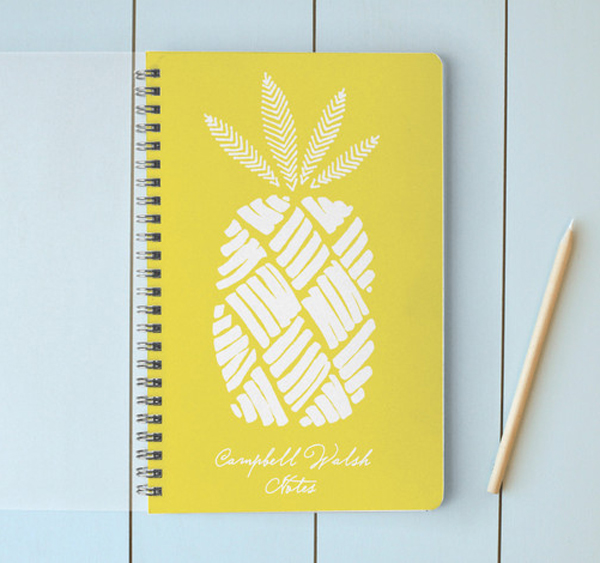 pinneapple notebook