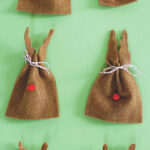 reindeer bag party favors