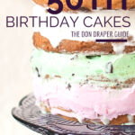Don Draper's guide to 50th birthday cakes