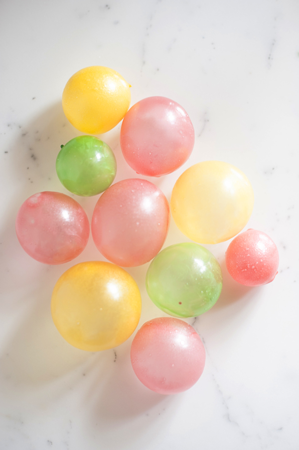 Edible bubble balloons