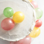 edible balloon birthday cake
