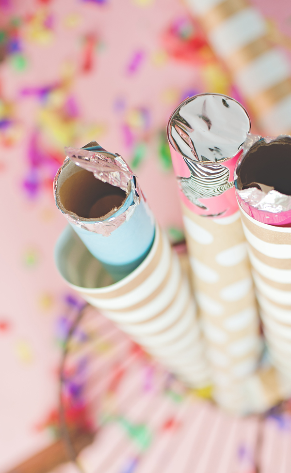 DIY Confetti Cannon party fun