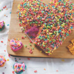 Cream cheese dip fruity pebble treats