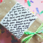 white board craft ideas wrapping paper