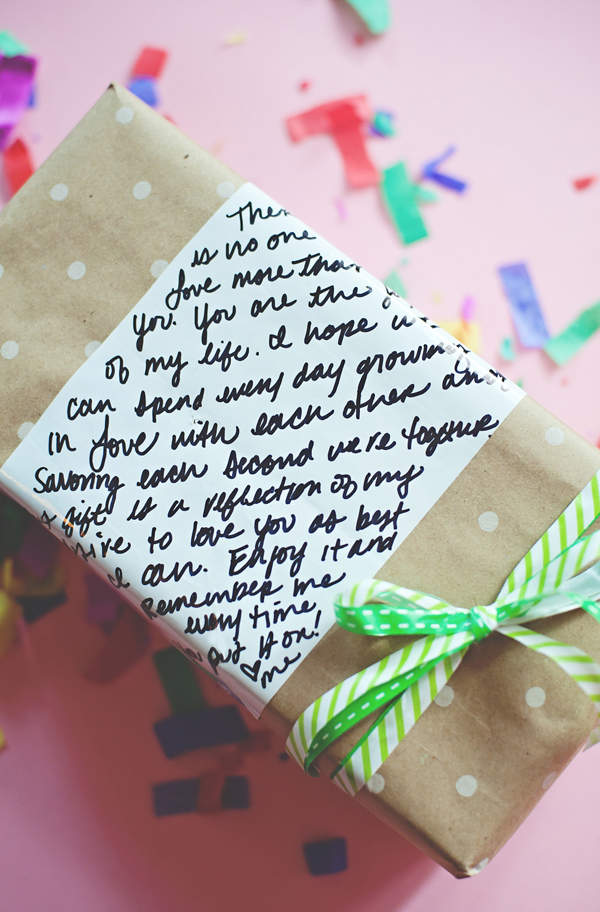 White board craft wrapping paper