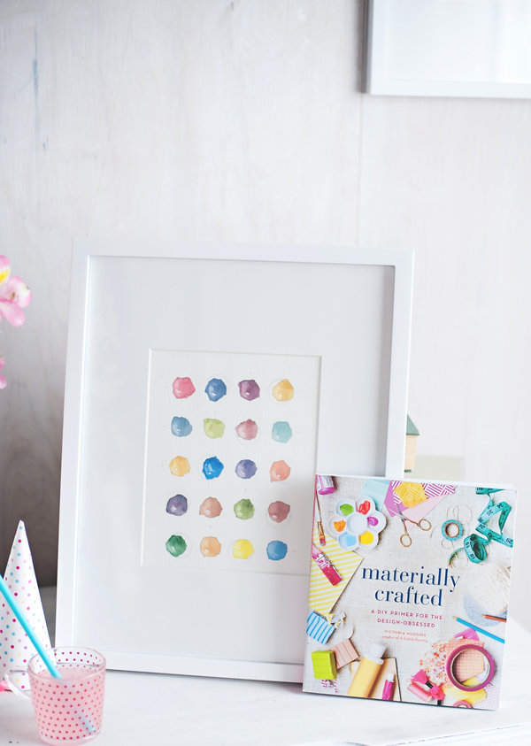 Free art print when you pre-buy Materially Crafted today!