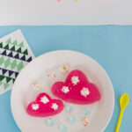 Jello mold recipes – pink clouds and raindrops
