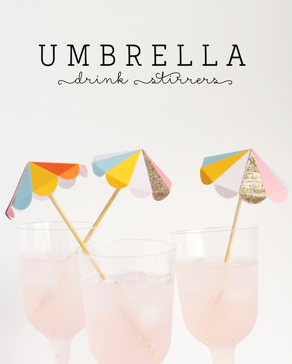 Paper Umbrella Drink Stirs A Subtle Revelry
