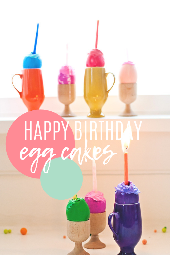 Happy Birthday Egg cake