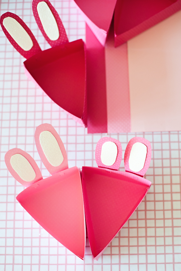 DIY Bunny pie boxes